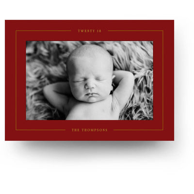 Red Joy | Christmas Card - 3 Dollar Photoshop Templates for Photographers