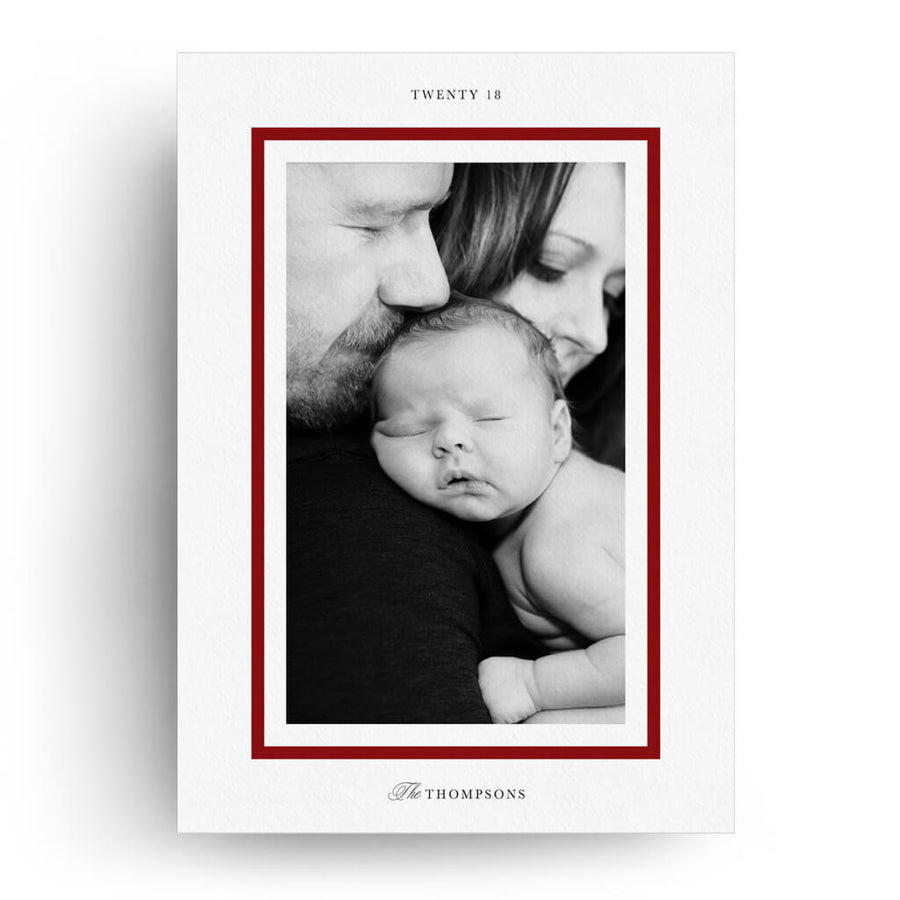 Red Merry | Christmas Card