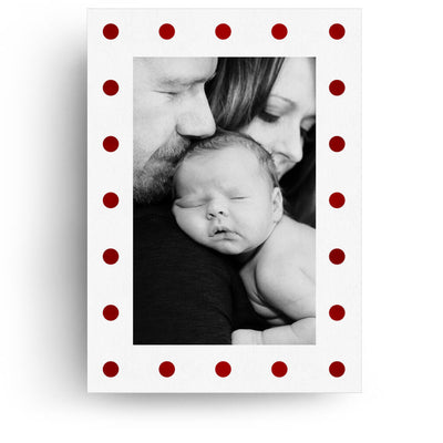 Red and White | Christmas Card - 3 Dollar Photoshop Templates for Photographers
