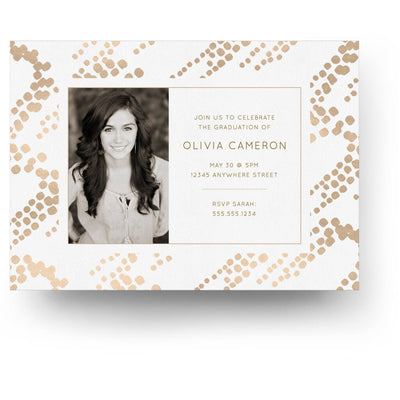 Ritz | Senior Graduation Card - 3 Dollar Photoshop Templates for Photographers