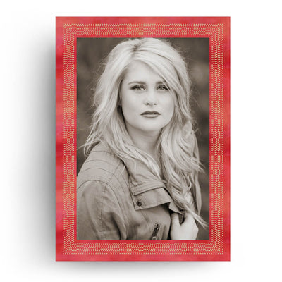 Rouge | Senior Graduation Card - 3 Dollar Photoshop Templates for Photographers