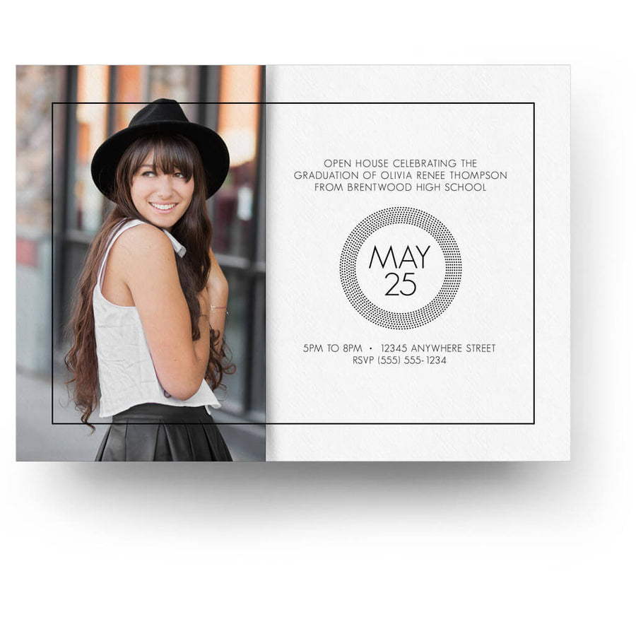 Essentials Card 7 | Senior Graduation Card - 3 Dollar Photoshop Templates for Photographers