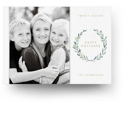 Sage | Christmas Card - 3 Dollar Photoshop Templates for Photographers