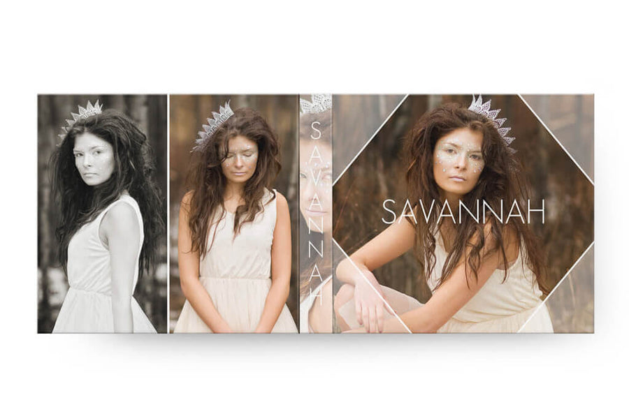 Savannah | USB Case - 3 Dollar Photoshop Templates for Photographers