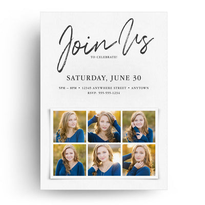 Script | Senior Graduation Card - 3 Dollar Photoshop Templates for Photographers