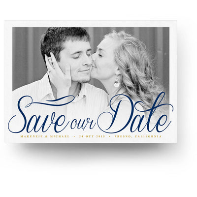 Script | Save-the-Date Card - 3 Dollar Photoshop Templates for Photographers