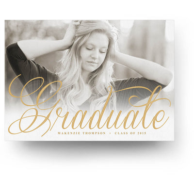 Scripty | Senior Graduation Card - 3 Dollar Photoshop Templates for Photographers