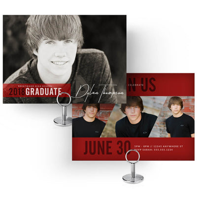 2018 Senior Card Collection - 30 Designs! - 3 Dollar Photoshop Templates for Photographers