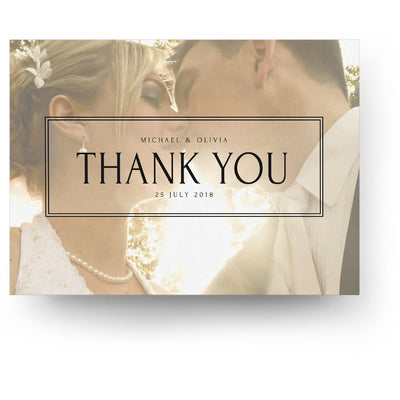 Snapshot | 5x7 Folding Thank You Card