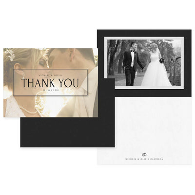Snapshot | 5x7 Folding Thank You Card - 3 Dollar Photoshop Templates for Photographers