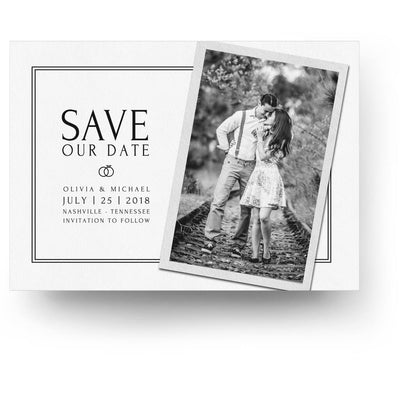 Snapshot | Save-the-Date Card - 3 Dollar Photoshop Templates for Photographers