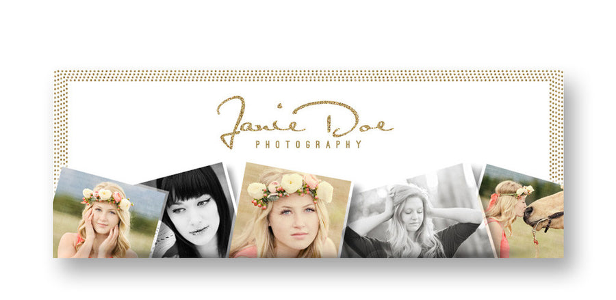 Snapshots | Facebook Cover - 3 Dollar Photoshop Templates for Photographers