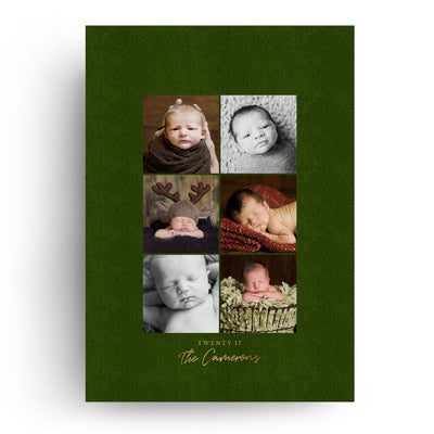 Sparkle Joy | Christmas Card - 3 Dollar Photoshop Templates for Photographers