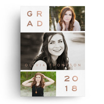 Staggered | Senior Graduation Card