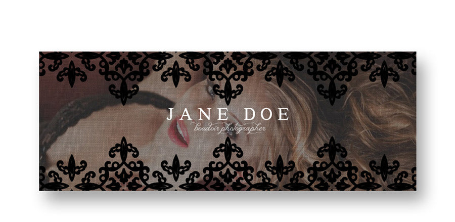 Sultry | Facebook Cover - 3 Dollar Photoshop Templates for Photographers