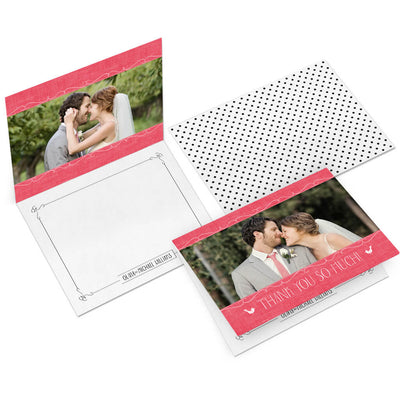 Sweet | 5x7 Folding Thank You Card - 3 Dollar Photoshop Templates for Photographers