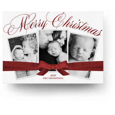Sweet Gift | Christmas Card - 3 Dollar Photoshop Templates for Photographers
