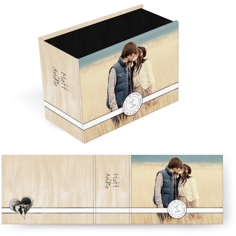 Sweethearts | Horizontal Image Box - 3 Dollar Photoshop Templates for Photographers