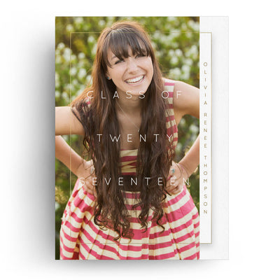Tab | Senior Graduation Card - 3 Dollar Photoshop Templates for Photographers