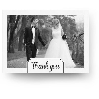 The Big Date | 5x7 Folding Thank You Card - 3 Dollar Photoshop Templates for Photographers