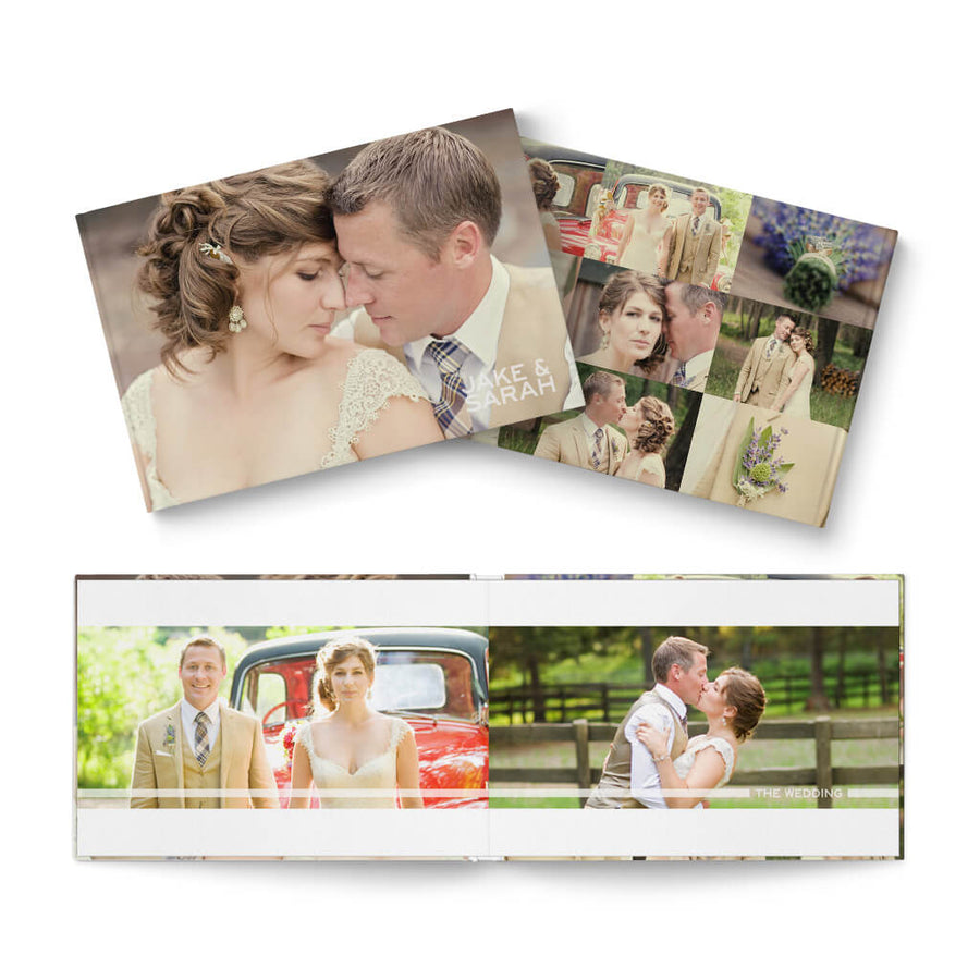 12x8 The Wedding - 3 Dollar Photoshop Templates for Photographers