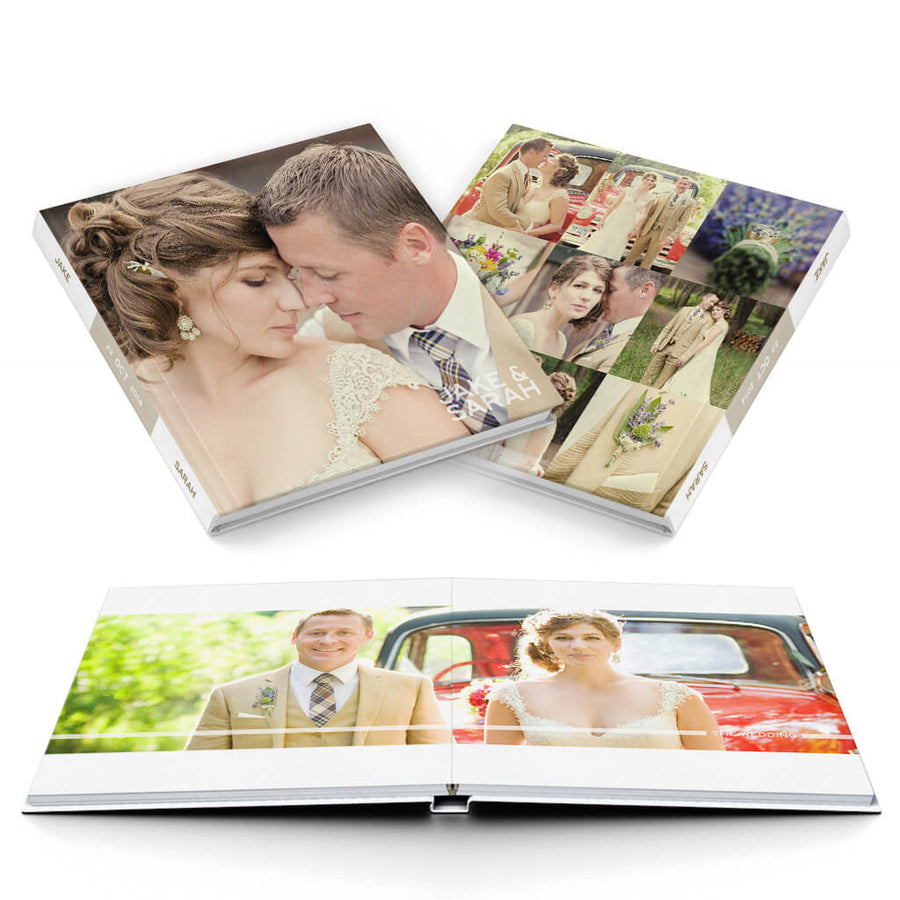 The Wedding Album - 3 Dollar Photoshop Templates for Photographers