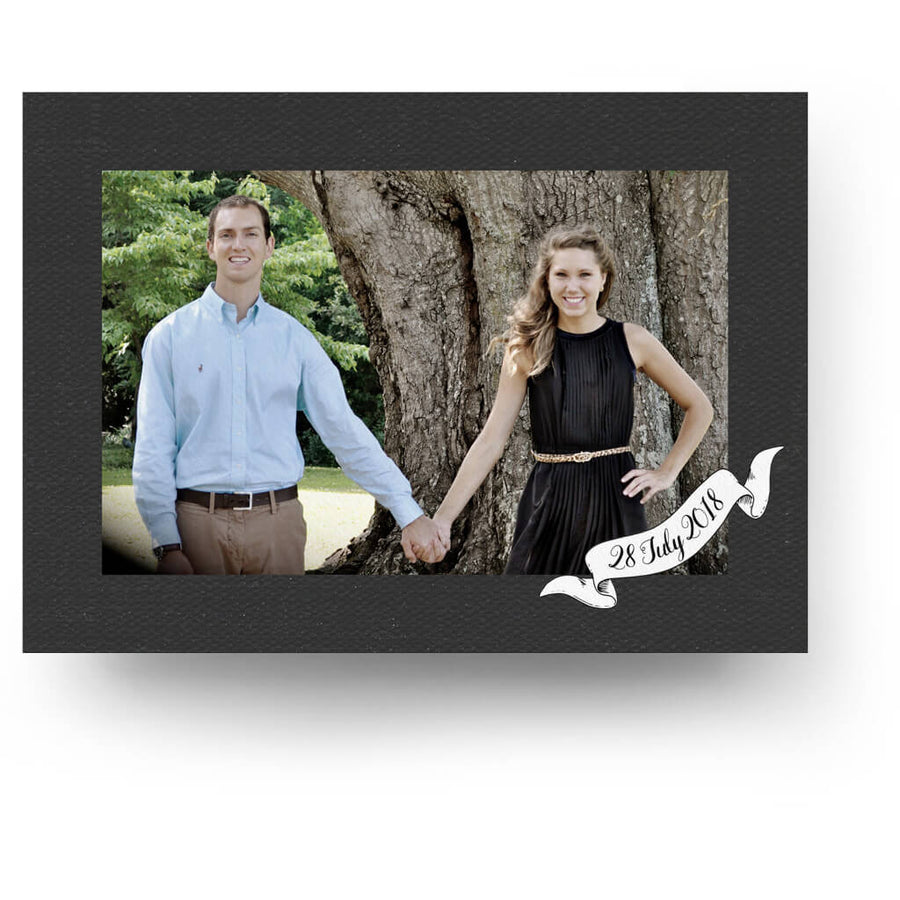 Two Become One | Save-the-Date Card