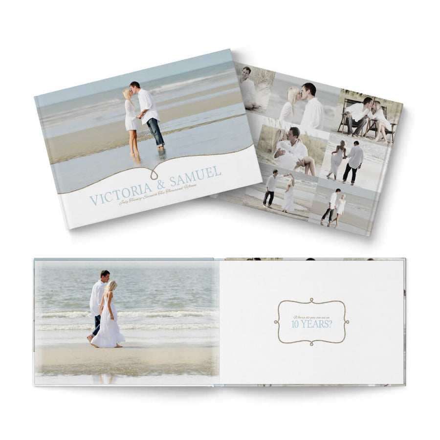 12x8 Two if by Sea - 3 Dollar Photoshop Templates for Photographers