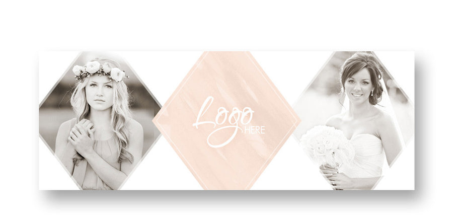 Watercolor | Facebook Cover - 3 Dollar Photoshop Templates for Photographers