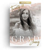 Watercolor Senior | Senior Graduation Card - 3 Dollar Photoshop Templates for Photographers