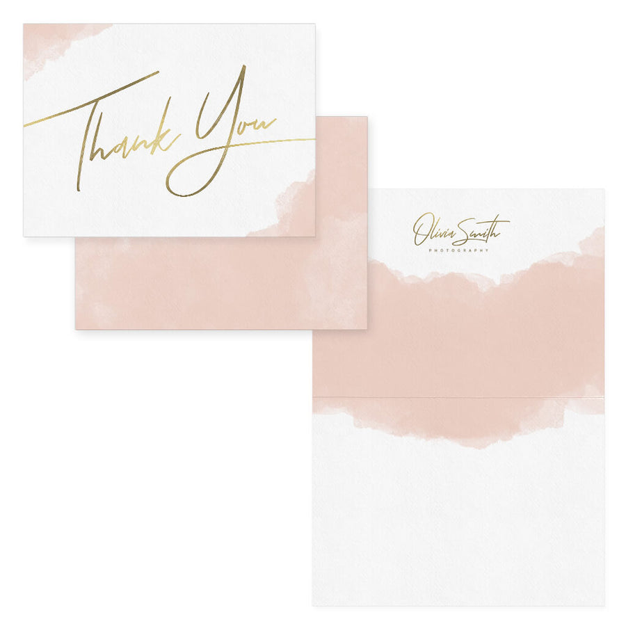 Watercolor | Photographer Thank You Card