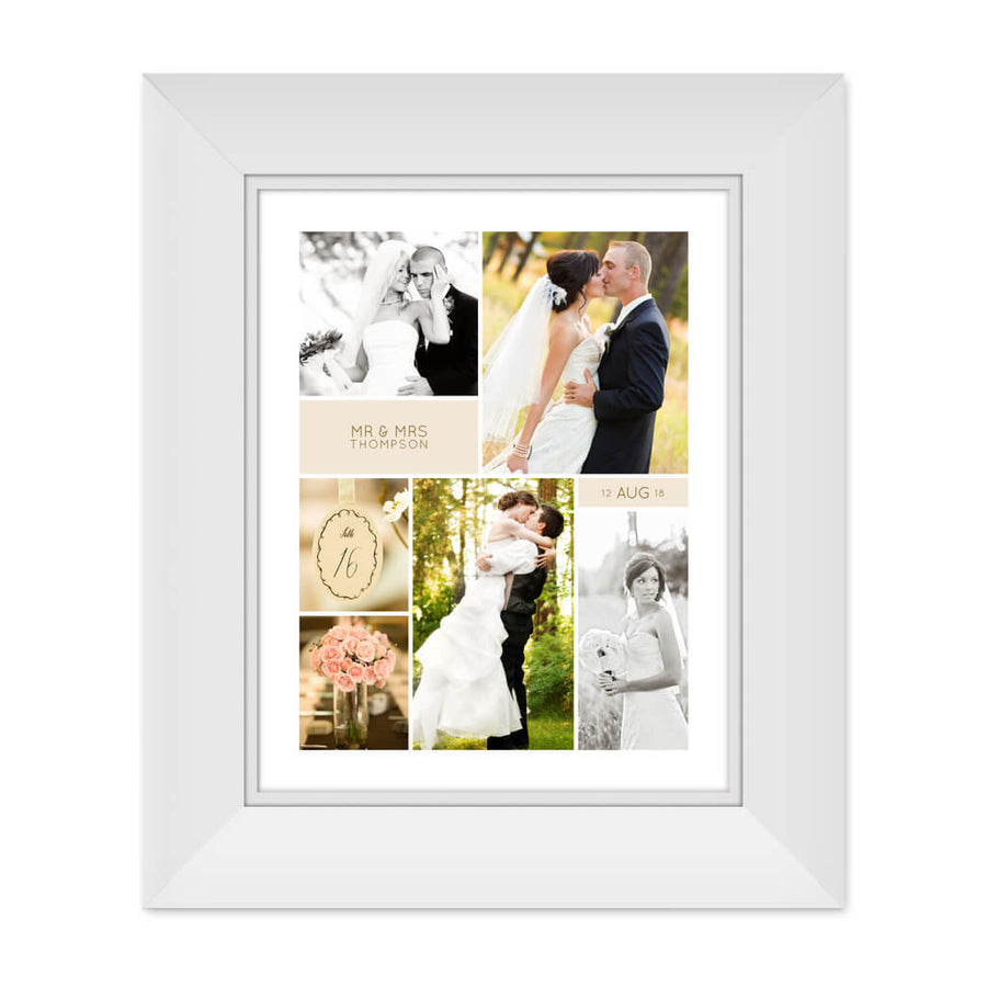 Wedding Board | 11x14 Collage Template - 3 Dollar Photoshop Templates for Photographers