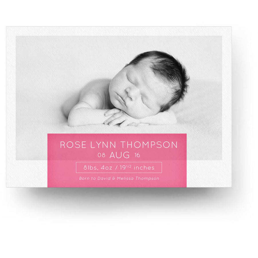 Birth announcement templates baby announcement templates 3 white collection card 1 birth announcement card 3 dollar photoshop templates for photographers pronofoot35fo Gallery