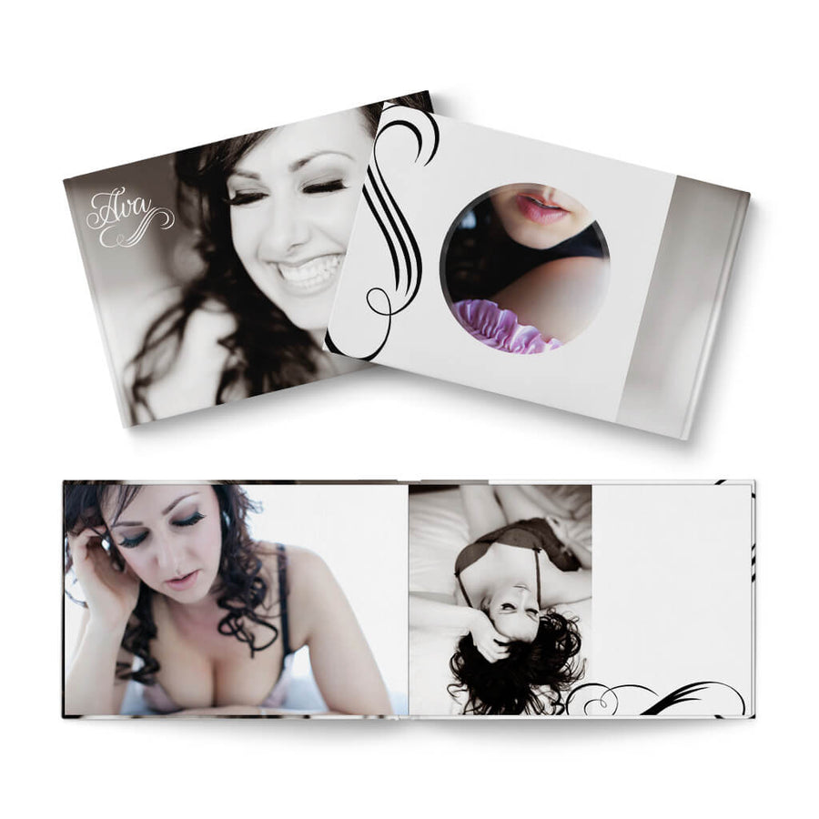 12x8 White Hot - 3 Dollar Photoshop Templates for Photographers