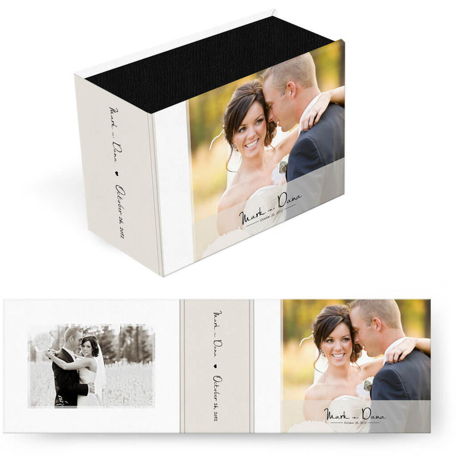 White Magazine | Horizontal Image Box - 3 Dollar Photoshop Templates for Photographers