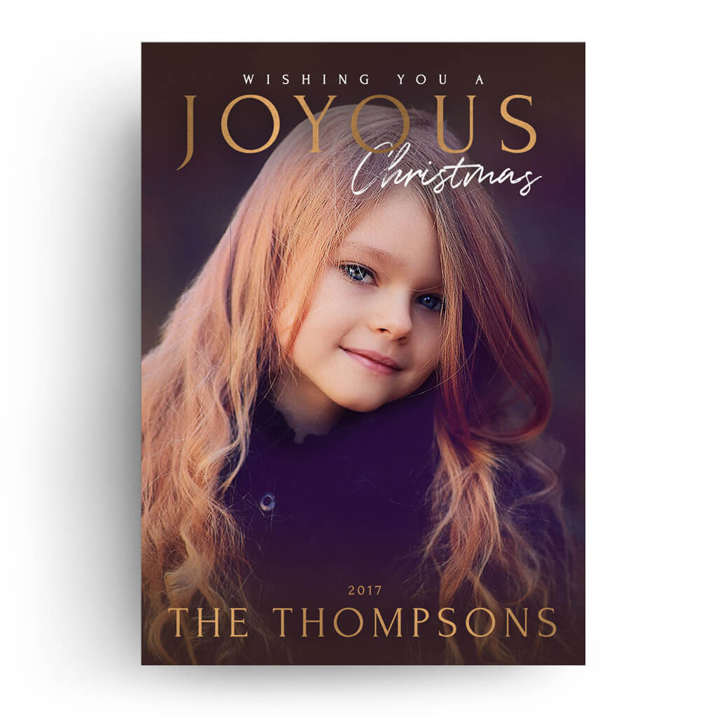 Wishes For You Christmas Card Dollar Templates - Christmas card templates for photographers 2