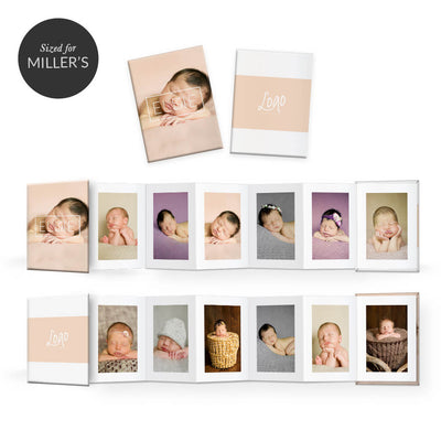 Essentials #4 | Mini Accordion Book - 3 Dollar Photoshop Templates for Photographers