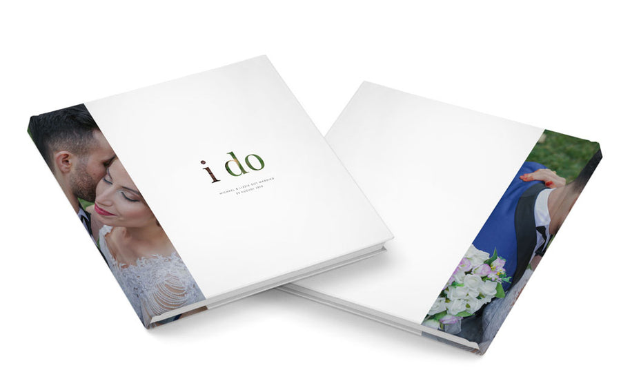 I Do | Album Cover - 3 Dollar Photoshop Templates for Photographers