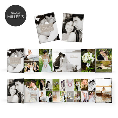 Multiplicity | Mini Accordion Book - 3 Dollar Photoshop Templates for Photographers
