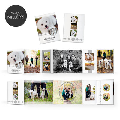 Pet-tastic | Mini Accordion Book - 3 Dollar Photoshop Templates for Photographers