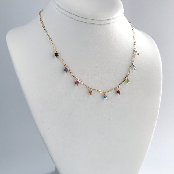 Multi-Gemstone Necklace