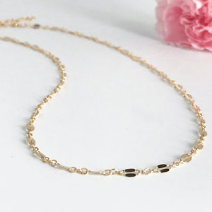 Delicate Gold Choker Necklace