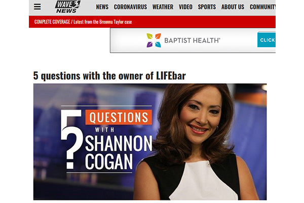 WAVE3 NEWS: 5 questions with the owner of LIFEbar