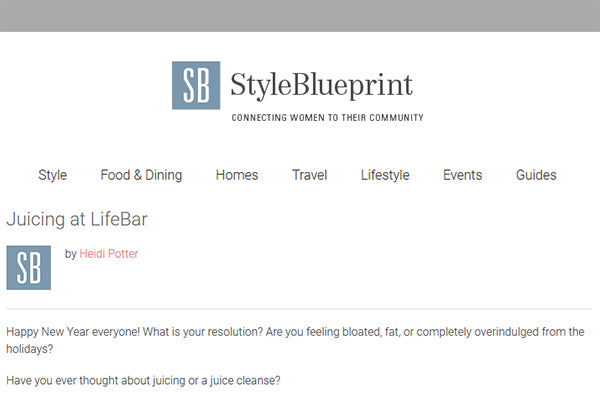 StyleBlueprint: Juicing at LifeBar