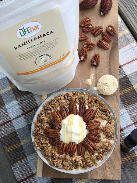 Pecan Pie Smoothie Bowl