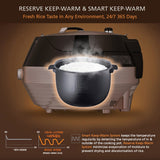 CJS-FD, Rose Gold (6Cup, 10Cup), Pressure Rice Cooker - Cuchen US