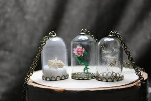 A Capsule In Time Necklaces
