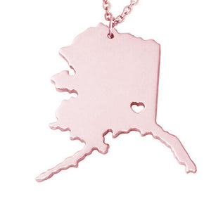 The State of My Heart Necklace