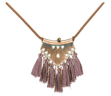Tassel by Tassel Necklace