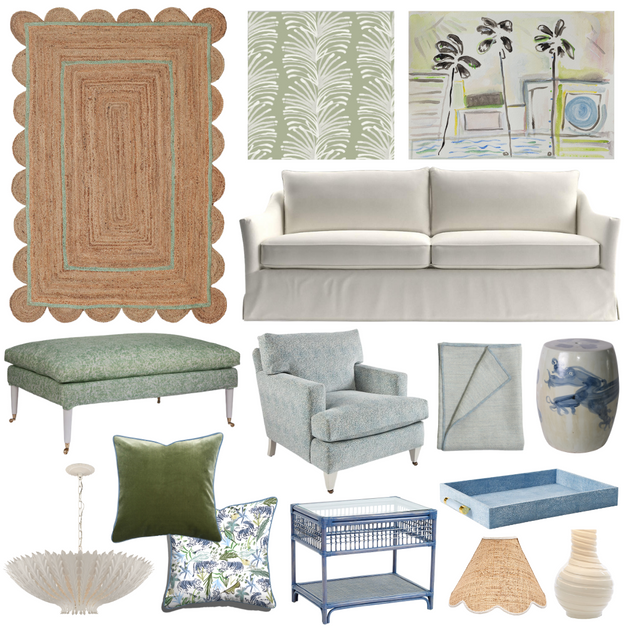 Style Guide: Green Wallpaper